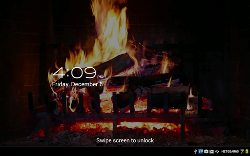 Virtual Fireplace LWP