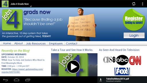 Jobs 4 Grads Now
