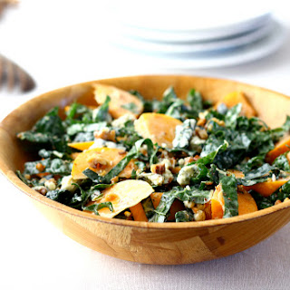 Kale and Persimmon Salad.