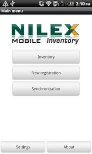 Nilex Inventory Mobile - náhled