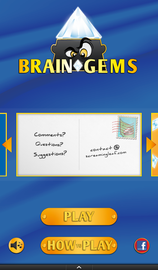 Brain Gems Free: Fun Word game - screenshot