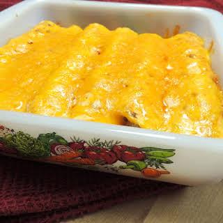 Saddle Up Chicken Enchiladas.