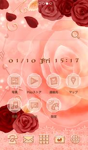 可愛換裝桌布★Valentine rose