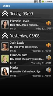 Visual Voicemail by MetroPCS- screenshot thumbnail
