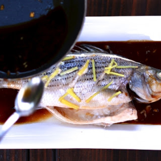 Steamed Rockfish With Ginger And Green Onion