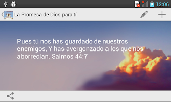 Screenshot of La Promesa de Dios para tí