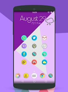 Lollipop Theme Icon Pack HD v3