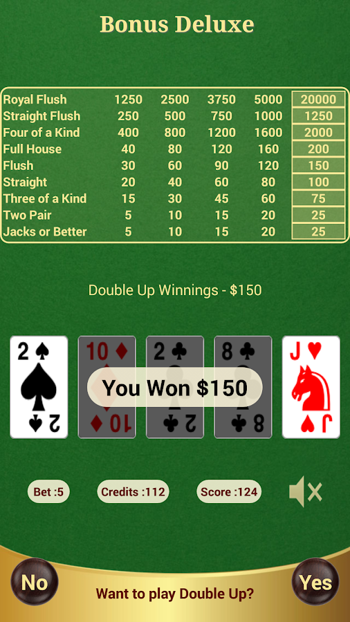 bonus deluxe poker android apps on google play. Black Bedroom Furniture Sets. Home Design Ideas