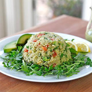 Quinoa Avocado Tabbouleh.