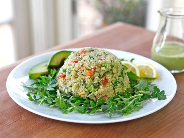Quinoa Avocado Tabbouleh Recipe