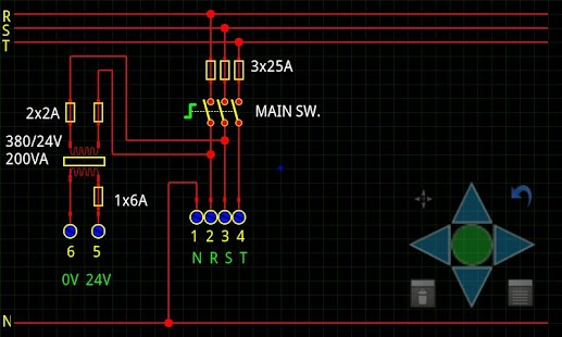mPlan : Electrical diagrams - screenshot thumbnail