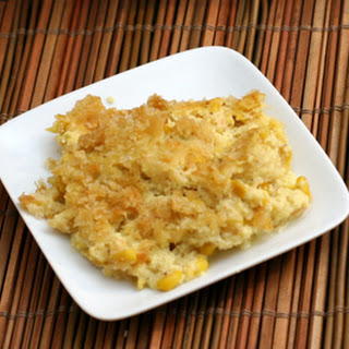 Easy Cheesy Corn Bake