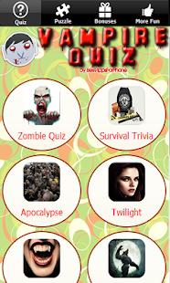 Zombie Survival Quiz Game Test - screenshot thumbnail