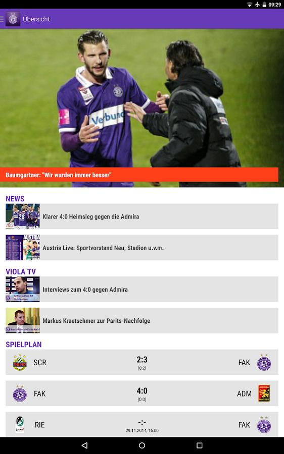 ViolaNews- screenshot