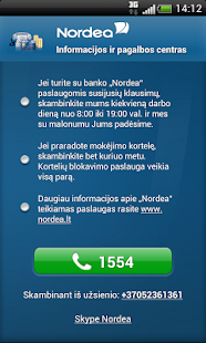Nordea Lietuva - screenshot thumbnail