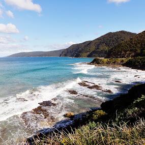 The Great Ocean Road by Leonardus Cung - Landscapes Beaches ( beaches, great ocean road, beautiful, landscape, ocean view, roads )