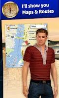 Screenshot of 3D Voice Assistant