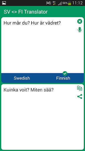 Swedish Finnish Translator