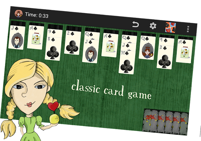 Spider Solitaire without ads! Screenshot