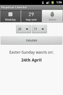 Perpetual Calendar- screenshot thumbnail