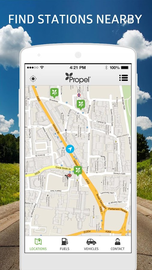 Propel Station Locator- screenshot