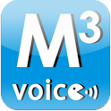 Multilingual Med.quest +Voice logo