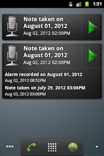 GT Voice Notes & Alarms - screenshot thumbnail