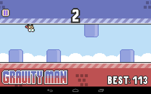 【免費休閒App】Gravity Man-APP點子