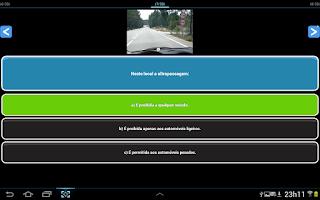 Screenshot of Exame Código Portugal Lite PT