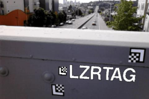 LZRTAG - screenshot