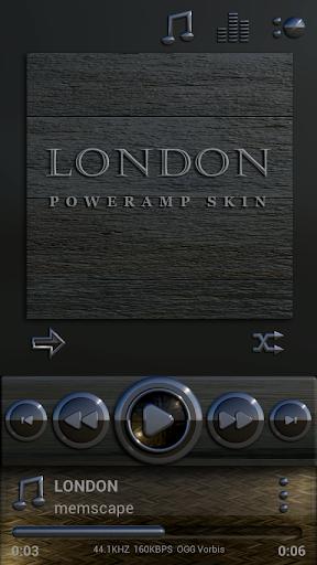 Poweramp skin London