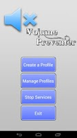 Screenshot of Volume Preventer or Locker