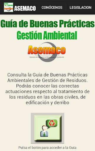 ASEMACO. Guía Buenas Prácticas