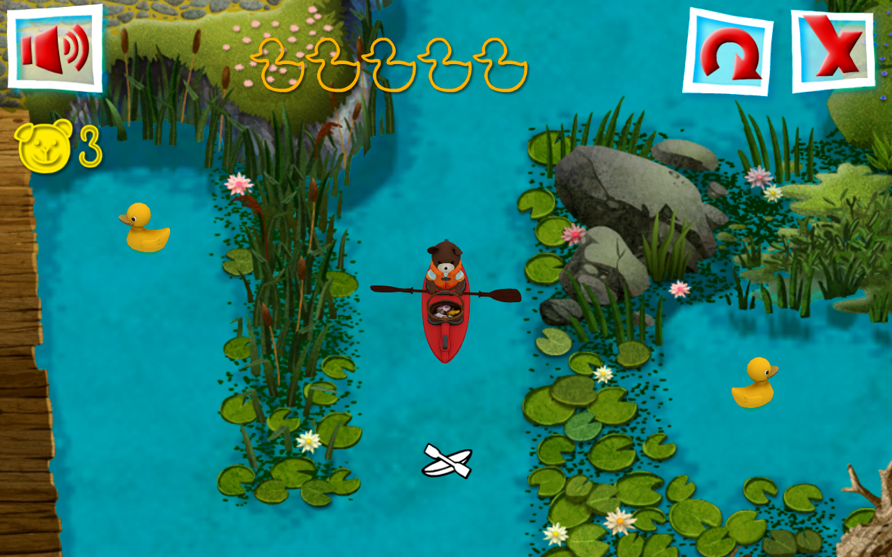 Teddy Floppy Ear: Kayaking- screenshot