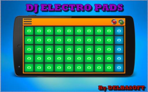 のDJ電気パッド