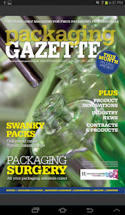 Packaging Gazette- screenshot thumbnail