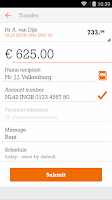 Screenshot of ING Bankieren