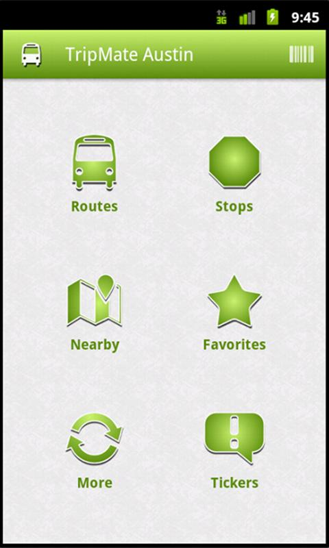 TripMate Austin - screenshot