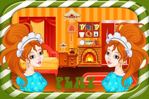 子供のためのベッドルームクリーニングゲーム