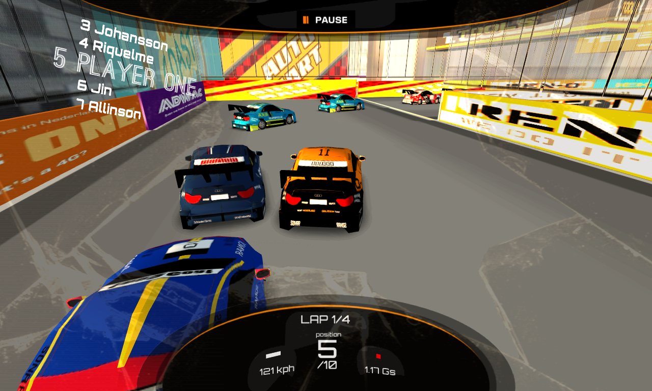 DownForce - V8 Preview- screenshot