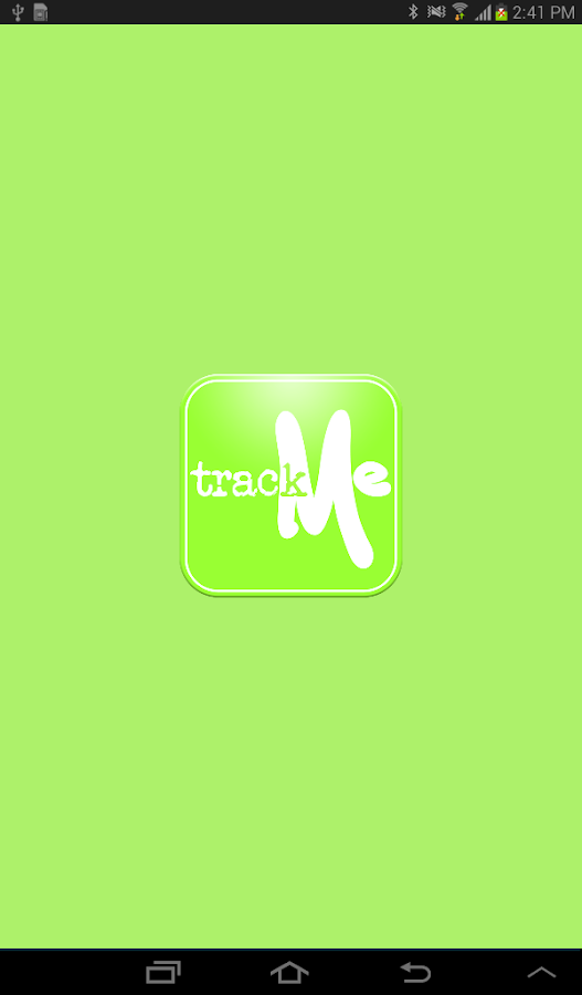 TrackMe- screenshot