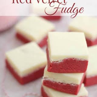 Red Velvet Fudge.