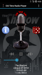 Old Time Radio Player (no ads) - screenshot thumbnail