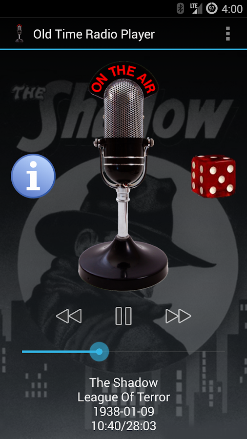 Old Time Radio Player (no ads) - screenshot