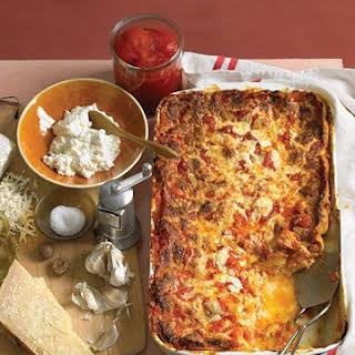 Classic Cheese Lasagna.