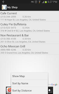 Restaurant Finder - screenshot thumbnail