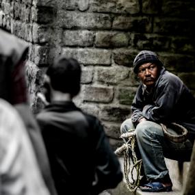 by Suman Sengupta - People Street & Candids ( work, suman sengupta, motionstopper, rawshooter, anger, street, india, candid, sikkim )