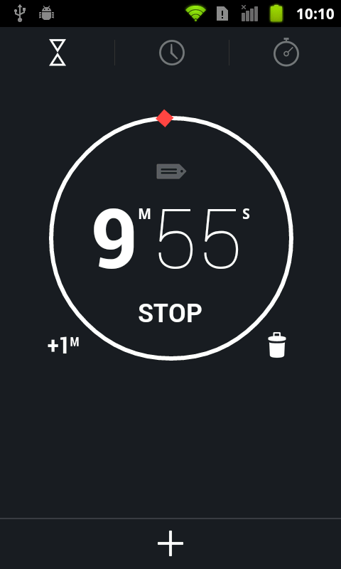 Jelly Bean 4.2 Alarm Clock - screenshot