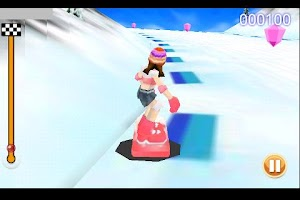Screenshot of Snowboarding