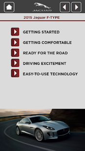 Jaguar Quick Start Guide App - screenshot thumbnail